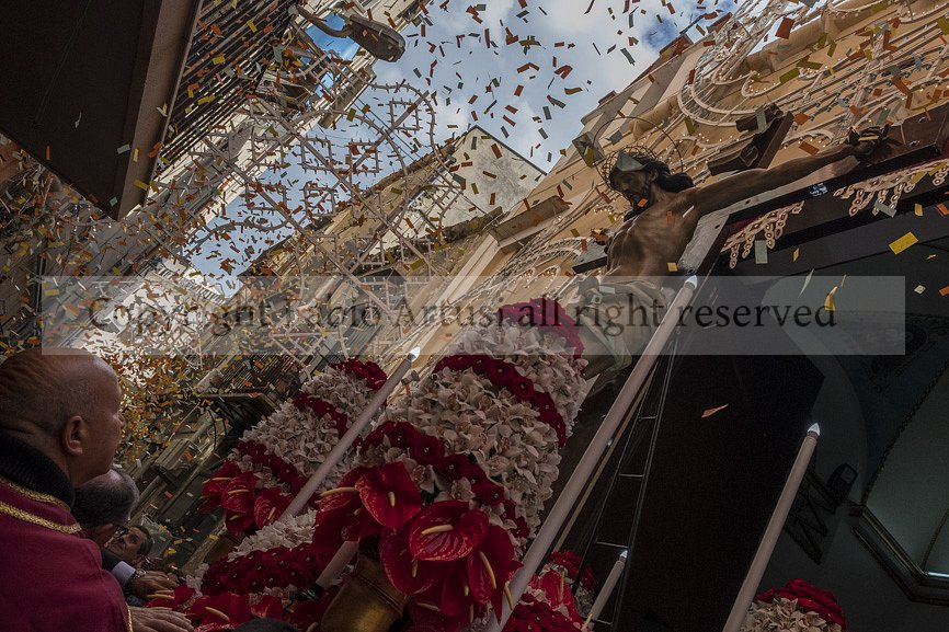 S.S. Crocifisso,  Bara all'Olivella street. Palermo